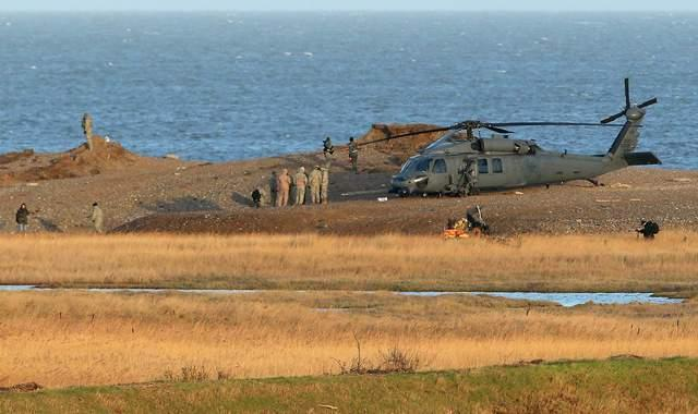 Катастрофа американского вертолета в Англии