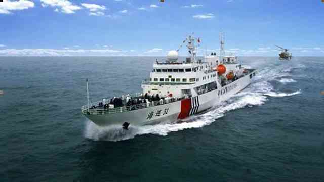 Chinese new patrol boat