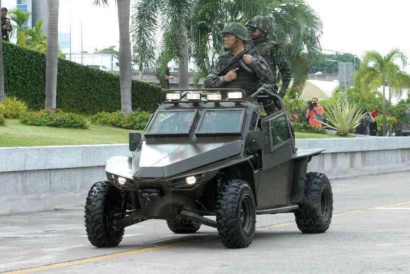 Легкая патрульно-штурмовая машина X650 V-4