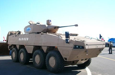 Южноафриканский бронетранспортер «Баджер»