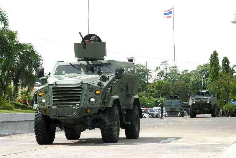 таиландская бронированная машина First Win класса MRAP