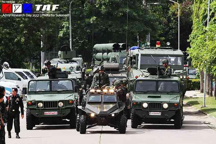 военная техника таиландской разработки