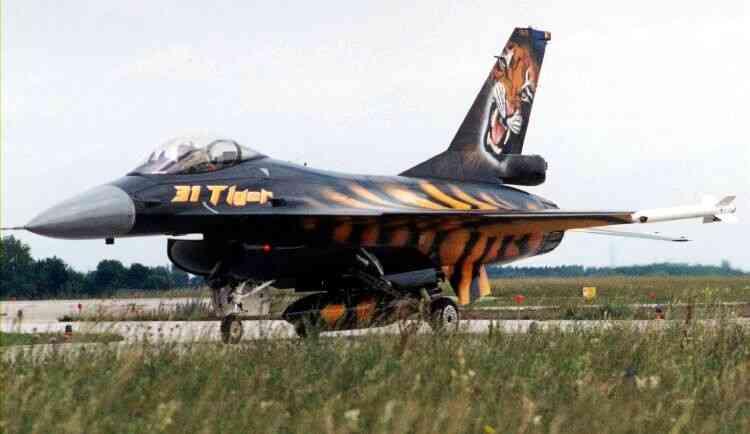 F-16-Belgium