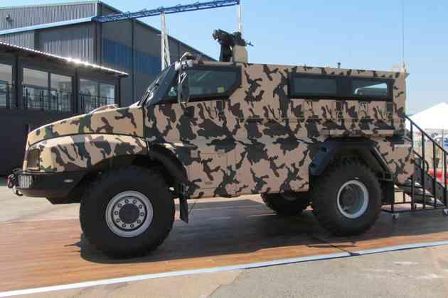бронеавтомобиль RG21