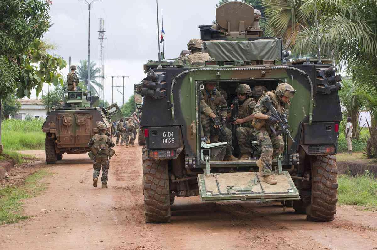 offres VBCI l'armée française en République centrafricaine