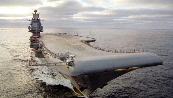 «Адмирал Кузнецов» вернулся в море после восстановления