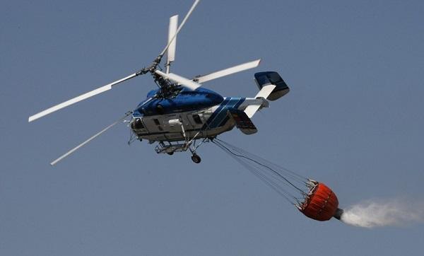 Вертолеты России демонстрируют противопожарный вертолет на выставке в Голландии2