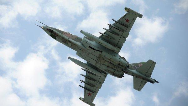В Беларуси разбился штурмовик Су-25
