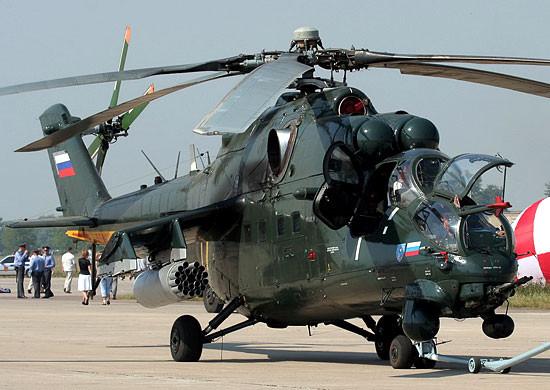В Ирак поставлена третья партия российских вертолетов Ми-35