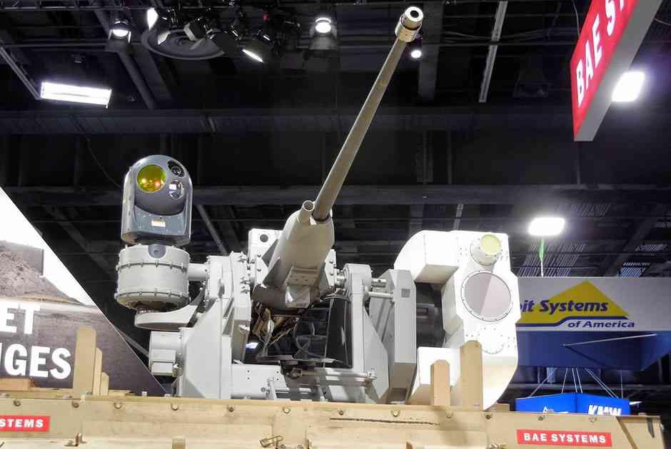 В основе Mk 38 — автоматическая 25-миллиметровая пушка M242 Bushmaster