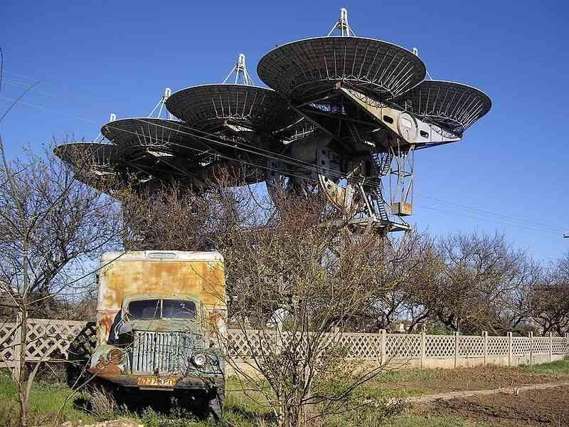 Крымский радиотелескоп и комплекс «Плутон»