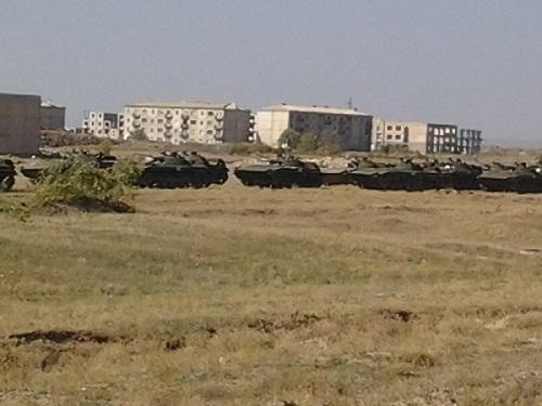 Масштабные учения российских войск стартовали в Армении2