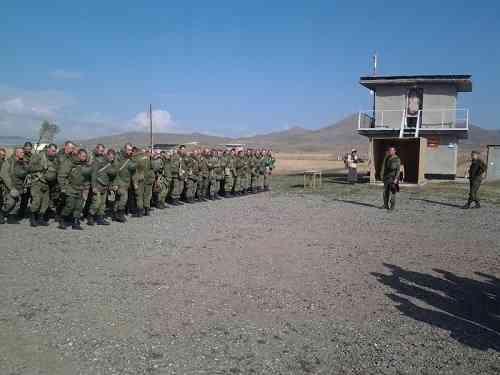 Масштабные учения российских войск стартовали в Армении6