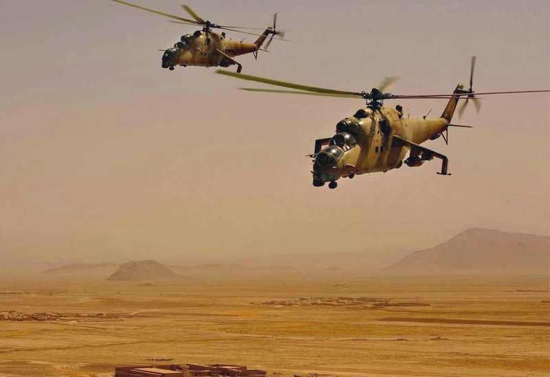 Ми-35 ВВС Ирака