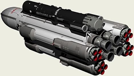 Облик новой сверхтяжелой ракеты-носителя определят до конца года