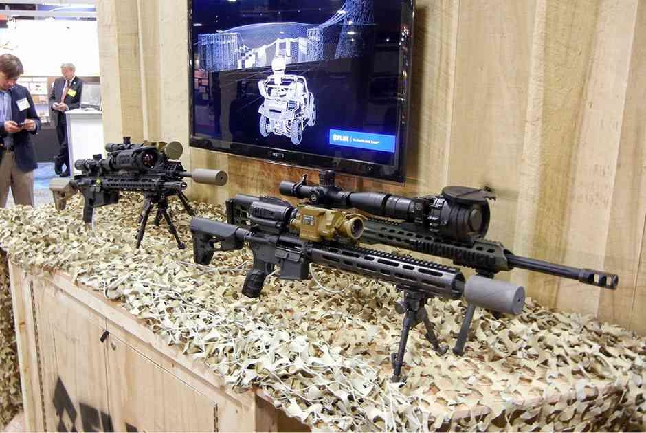 Оружейные комплексы технического зрения от компании Flir