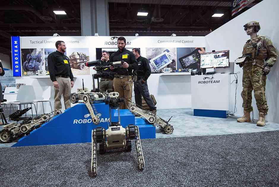 Робот от Roboteam