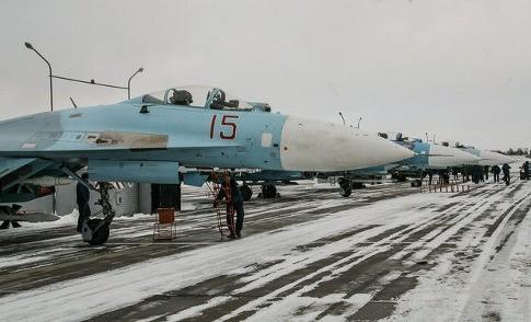 Россия создаст в Белоруссии авиабазу с истребителями Су-27 в 2016 году3