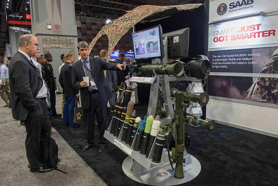 Ручной противотанковый гранатомет Carl-Gustaf M4 от компании Saab