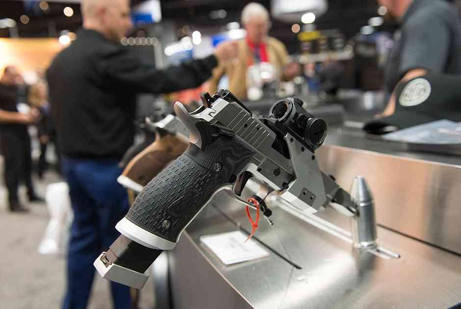 Самозарядный пистолет Sig Sauer X-FIVE OPEN с увеличенным магазином на 25 патронов
