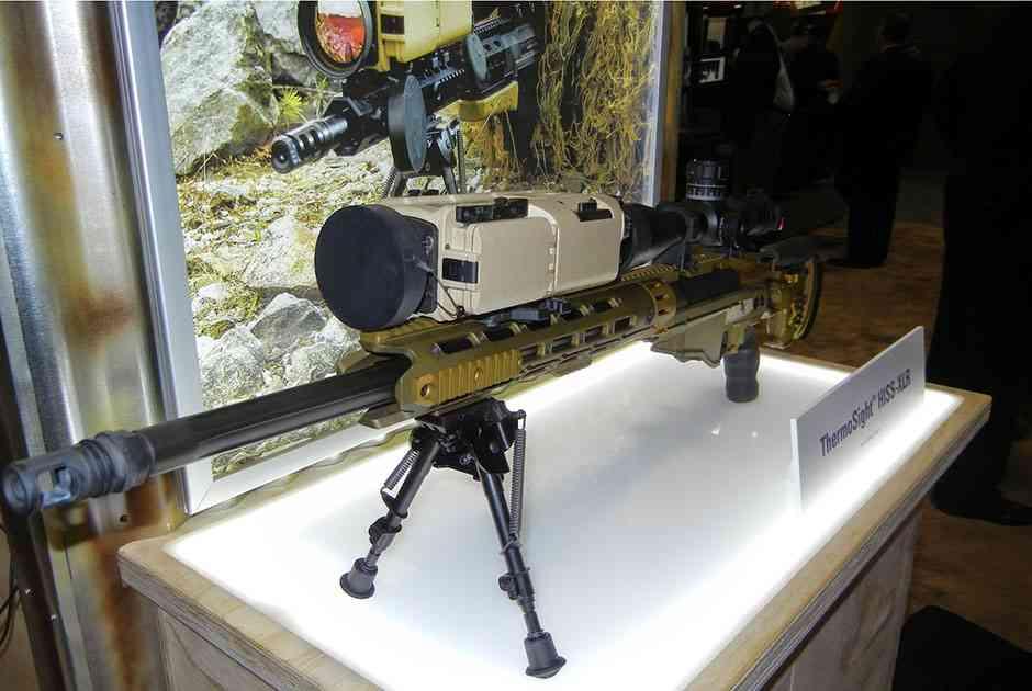 Снайперская винтовка с тепловизором ThermoSight HISS-XLR от компании Flir