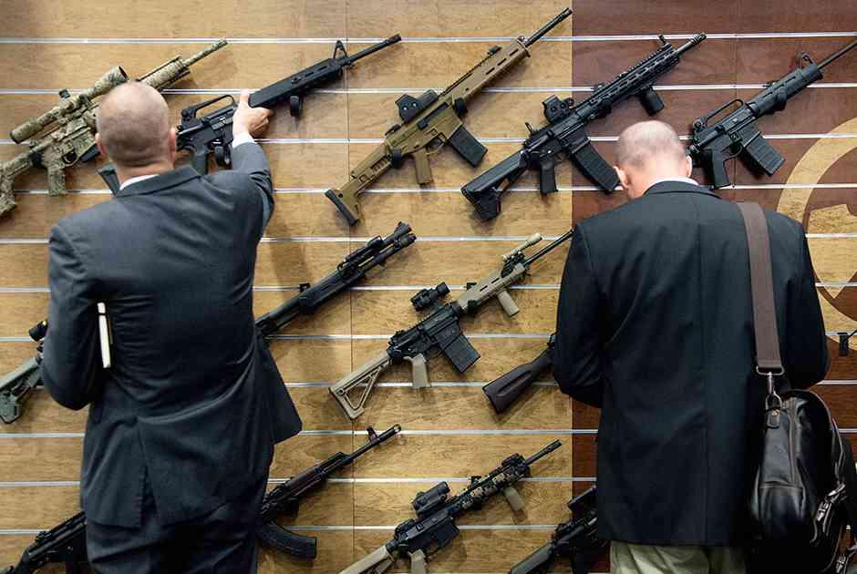 Стенд оружейной компании Magpul
