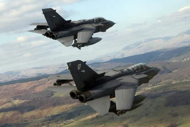 Торнадо ВВС Англии