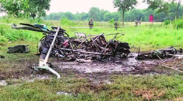 В Индии разбился вертолет «Читах»