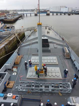 имитационная загрузка крылатых ракет Scalp Naval