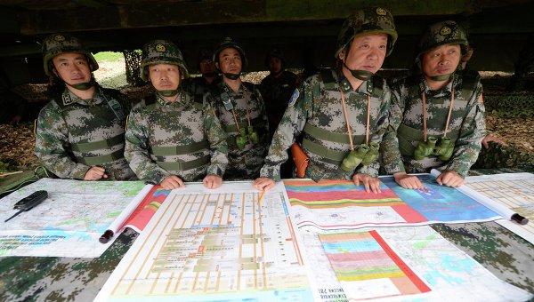 Народно-освободительная армия Китая приступила к комплексным маневрам