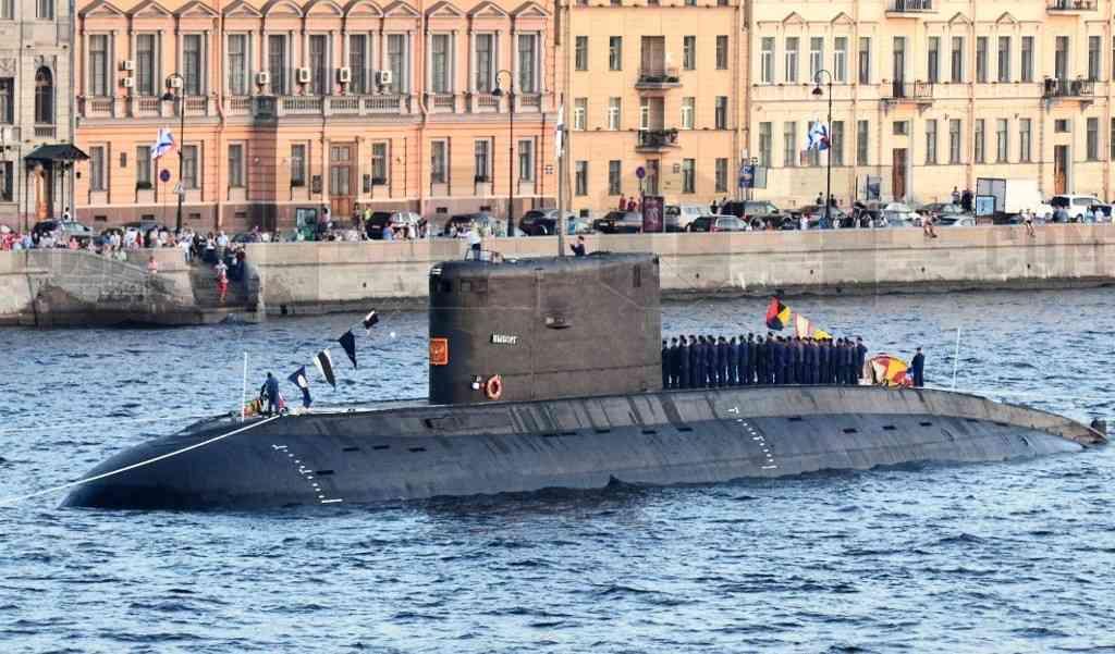 Подводная лодка Выборг