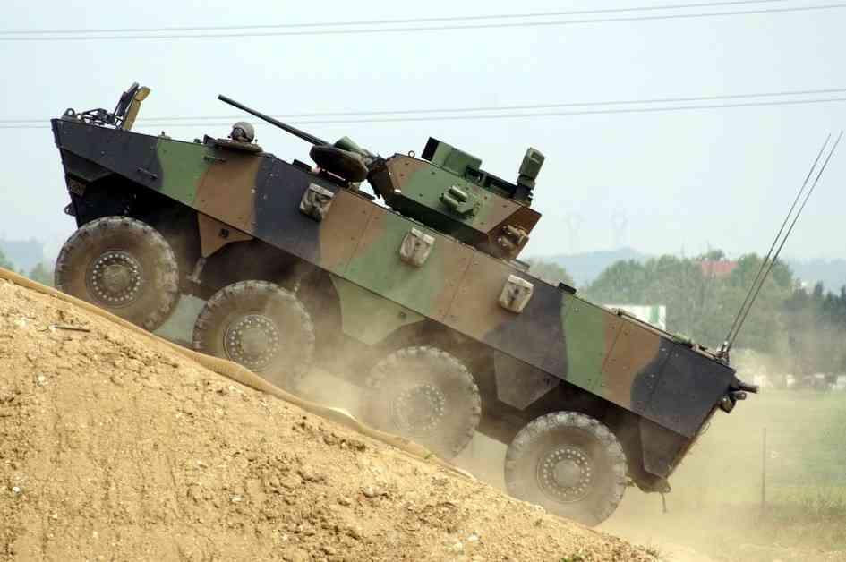 Vehicule Blinde de Combat d'Infanterie