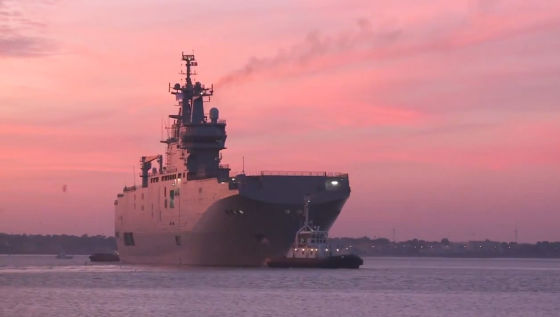 Дата передача России первого «Мистраля» предварительно назначена на 14 ноября