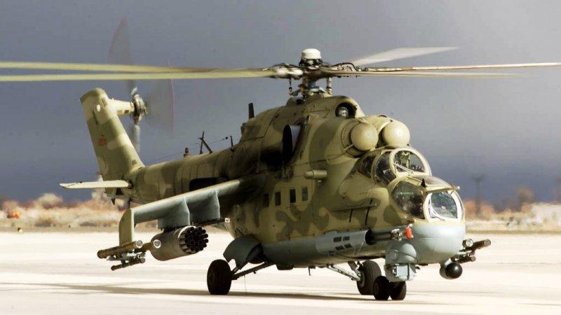 Ударные вертолёты вооружат дальнобойными ПТУРами