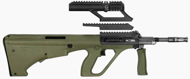 «Steyr Arms» выпустила усовершенствованный карабин AUG A3