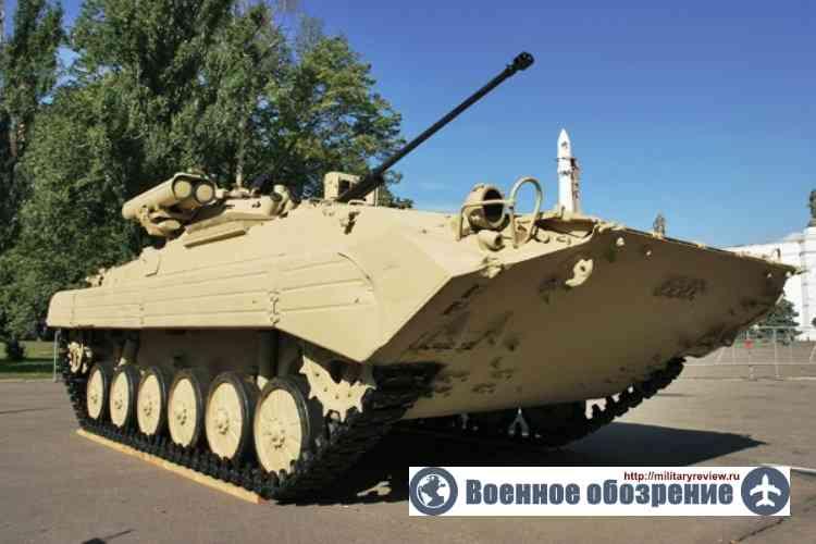 Комплекс «Бережок» существенно повысил боевую мощь БМП-2М