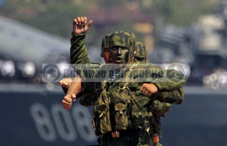 Численность морской пехоты Северного флота увеличат на треть
