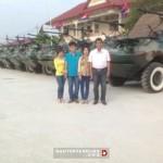 Вьетнамский фермер сконструировал бронемашину