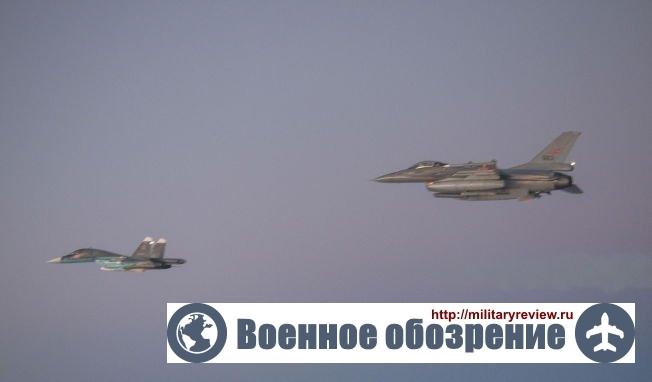 Су-34 напугал норвежцев