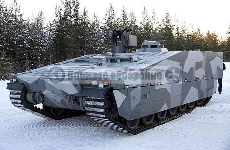 Модернизация шведской БМП CV90