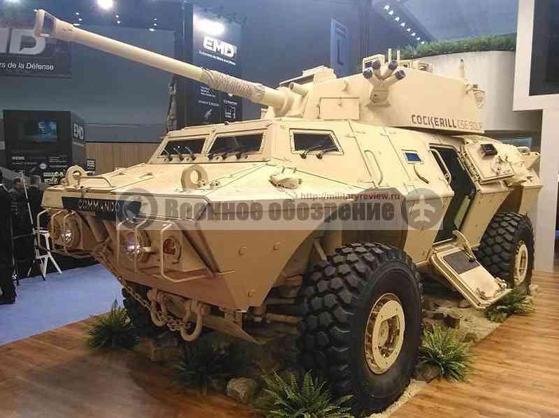 БТР Textron Commando 6x6