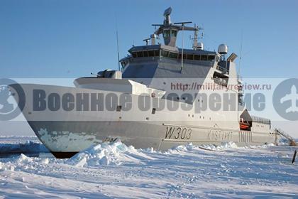 Ледокол «Свальбард» Береговой охраны Норвегии
