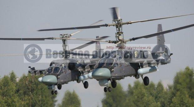 Ка-52К «Катран» вместо «Мистралей» летят на Камчатку