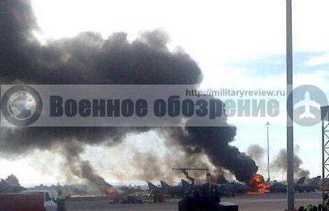 В Испании разбился истребитель греческих ВВС