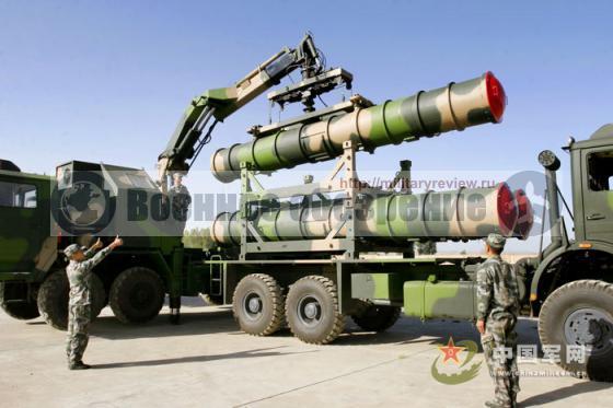 Китайский зенитный ракетный комплекс HQ-9, созданный на основе технологий российского ЗРК С-300П