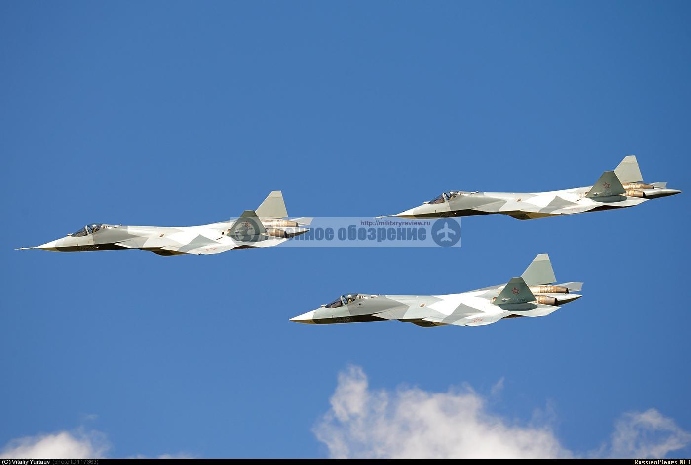 В армию отправлена установочная партия самолётов Т-50