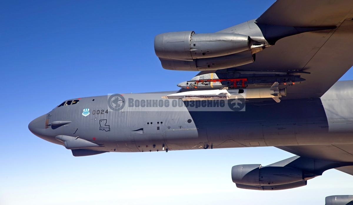 X-51 Hypersonic на бомбрадировщике B-52