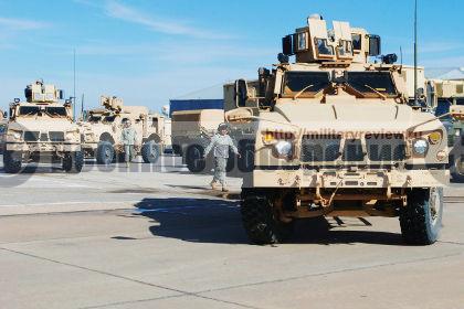 США подарили Узбекистану 328 бронемашин