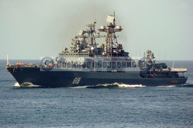 «Североморск» приступил к антипиратской миссии в Аравийском море