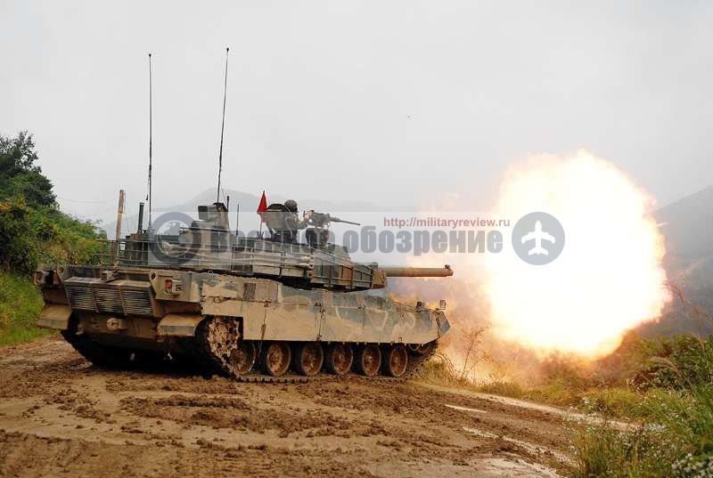 Южная Корея подписала контракт на поставку танков Black Panther